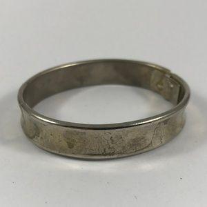 Vintage Whiting and Davis Co Silver Bracelet